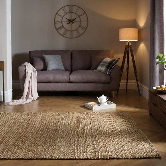 Chunky Jute Woven Rug Chunky Jute Natural undefined