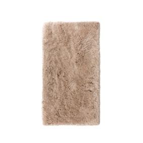 Gem Sparkle Natural Shaggy Rug