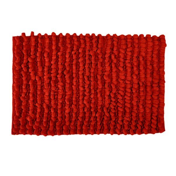 Bobble Red Bath Mat