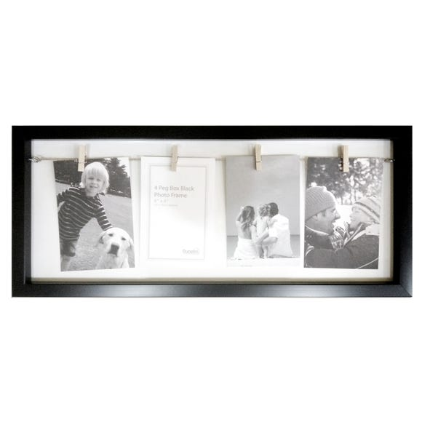 4 Aperture Box Frame Black