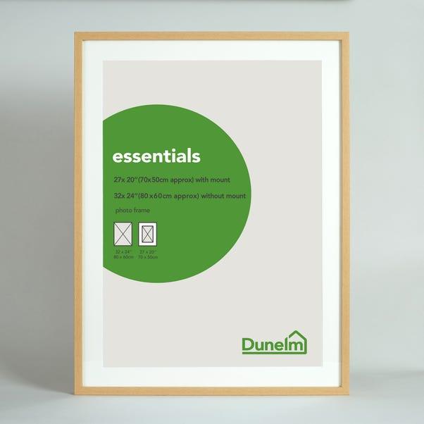 "Essentials Photo Frame 27"" x 20"" (70cm x 50cm) Natural"
