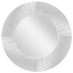 Sparkle Wall Mirror 80cm Silver
