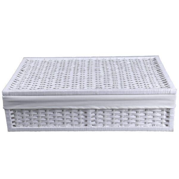 White Paper Rope Underbed Storage  undefined