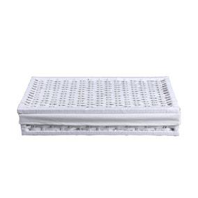 White Paper Rope Underbed Storage