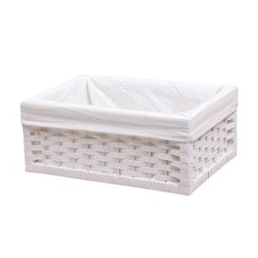 White Paper Rope Box