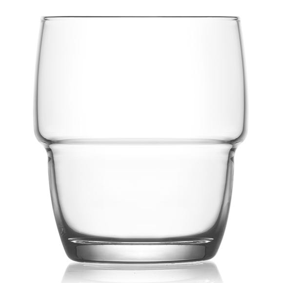 Stacking Clear Tumblers Clear