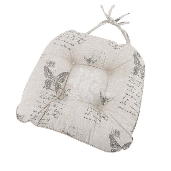 Butterfly Seat Pad Natural