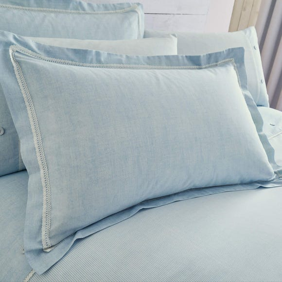Millie Blue Oxford Pillowcase