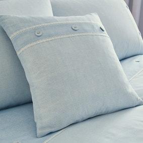 Millie Blue Square Cushion
