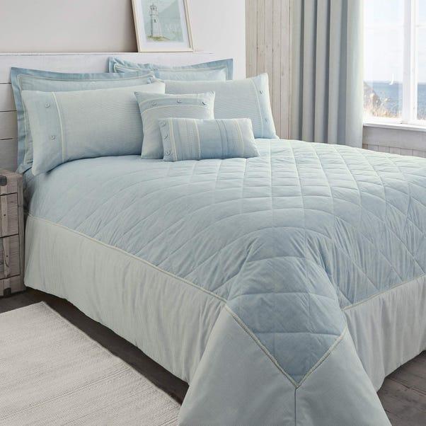 Millie Blue Bedspread  undefined