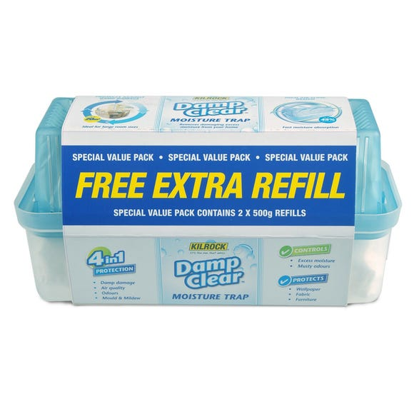 Kilrock Damp Clear Trap and Free Refill Clear