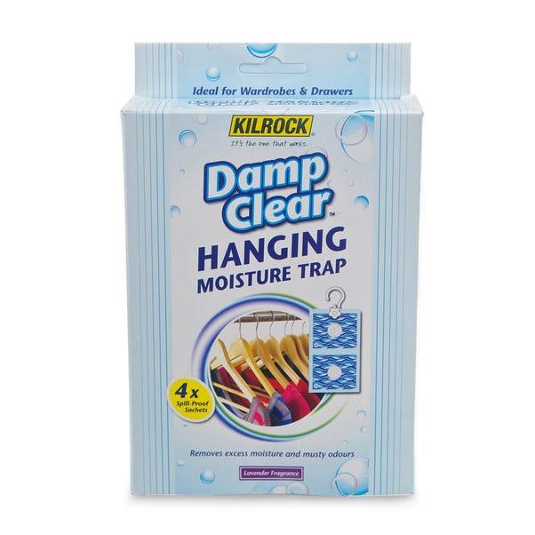 Kilrock Damp Clear Hanging Moisture Trap Clear