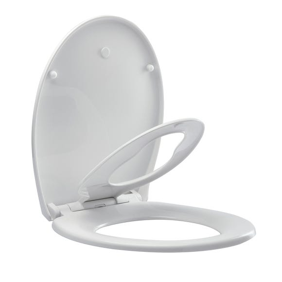 Family Toilet Seat White
