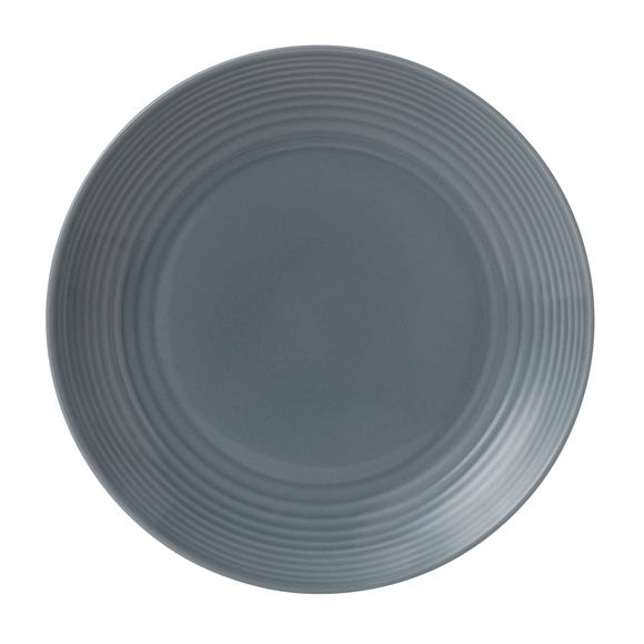 Gordon Ramsay Royal Doulton Grey Maze Dinner Plate Grey