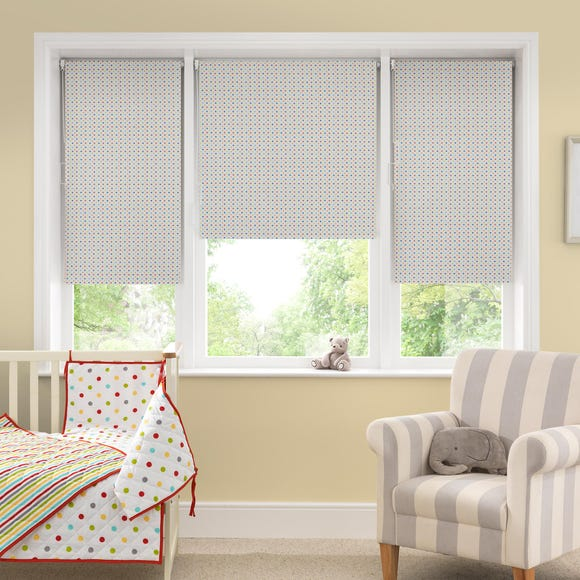 Bright Star Blackout Roller Blind Multi Coloured undefined