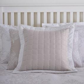 Versailles Natural Filled Cushion