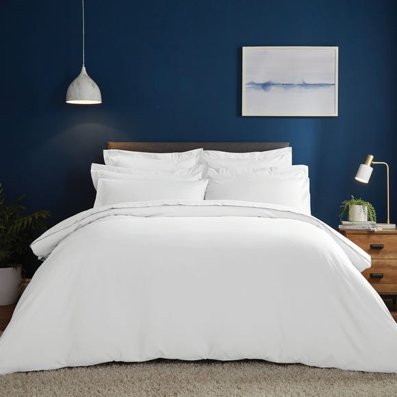 Fogarty Soft Touch White Duvet Cover and Pillowcase Set White undefined
