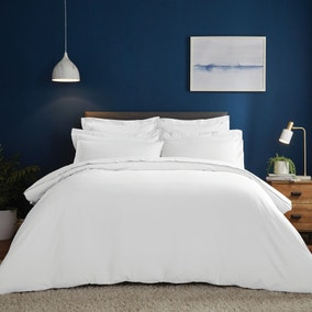 Fogarty Soft Touch White Duvet Cover and Pillowcase Set