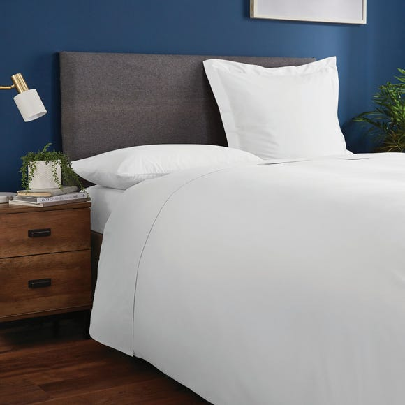 Fogarty Soft Touch Flat Sheet White undefined