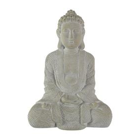 Cream Sitting Buddha
