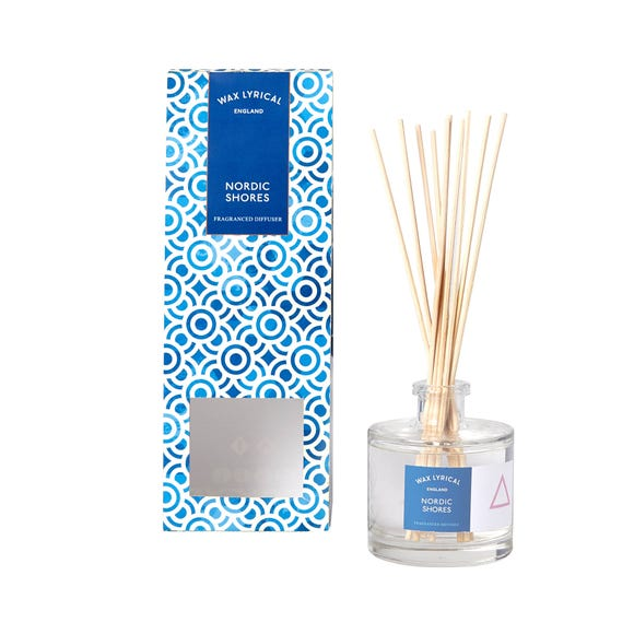 Wax Lyrical Nordic Shores Reed Diffuser Blue undefined