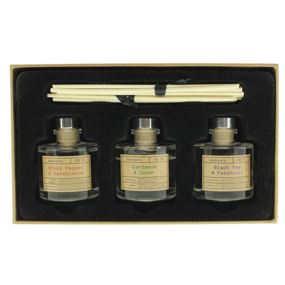 Churchgate 50ml Reed Diffuser Set Clear
