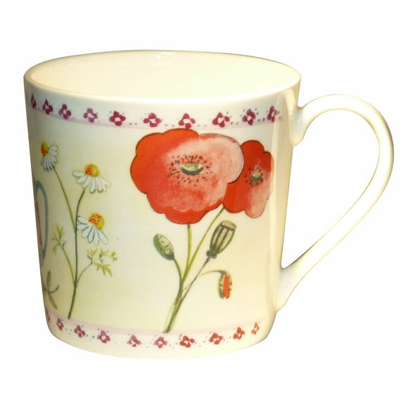 Dorset Summer Garden Mug Multi Coloured
