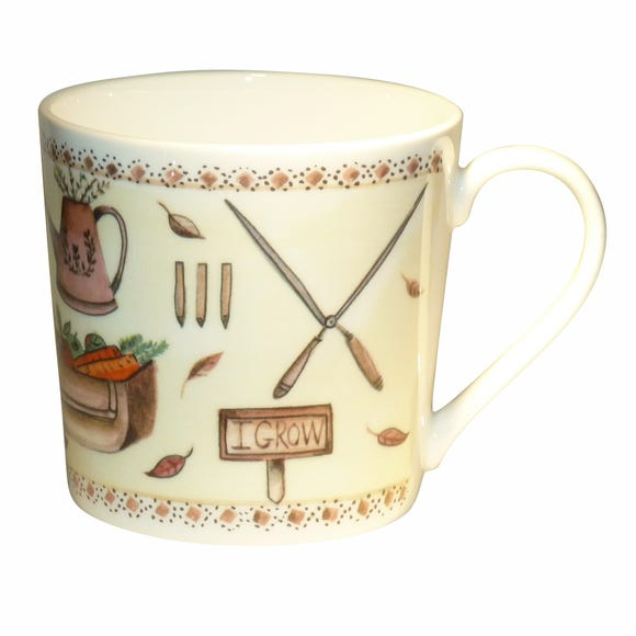 Dorset Autumn Garden Mug Multi Coloured