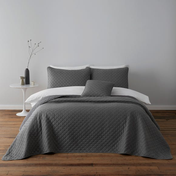 Jasper Grey Square Cushion Grey
