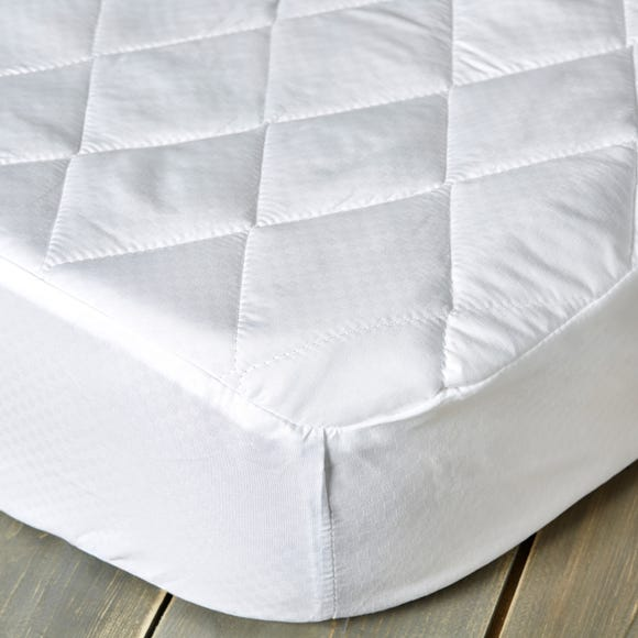 Fogarty Soft Touch 35cm Deep Mattress Protector White undefined