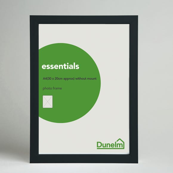 "Essentials Box Frame 12"" x 8"" (30cm x 21cm) Black undefined"