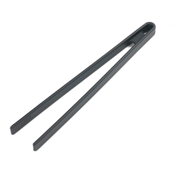 Silicone Food Tongs Black