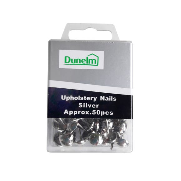 Upholstery Tacks Silver
