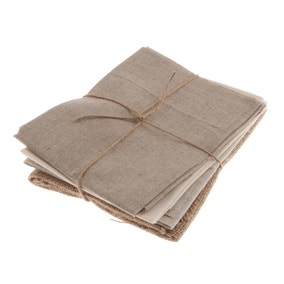 Pack of 4 Natural Fat Quarters