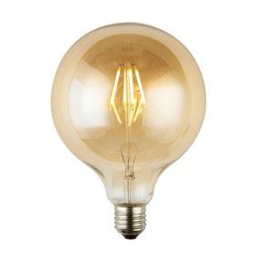 Henry 4 Watt ES G125 LED Dimmable Retro Globe Bulb