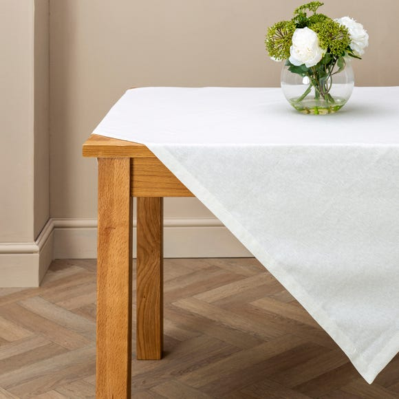 Sparkle Natural Tablecloth Natural undefined