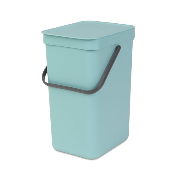 Brabantia Sort n Go 12 Litre Waste Bin Mint (Green)