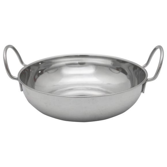 Stainless Steel 19cm Balti Dish Stainless Steel