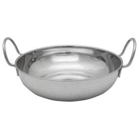 Stainless Steel 19cm Balti Dish