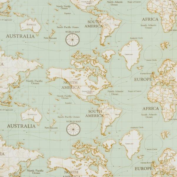 Maps Blue PVC