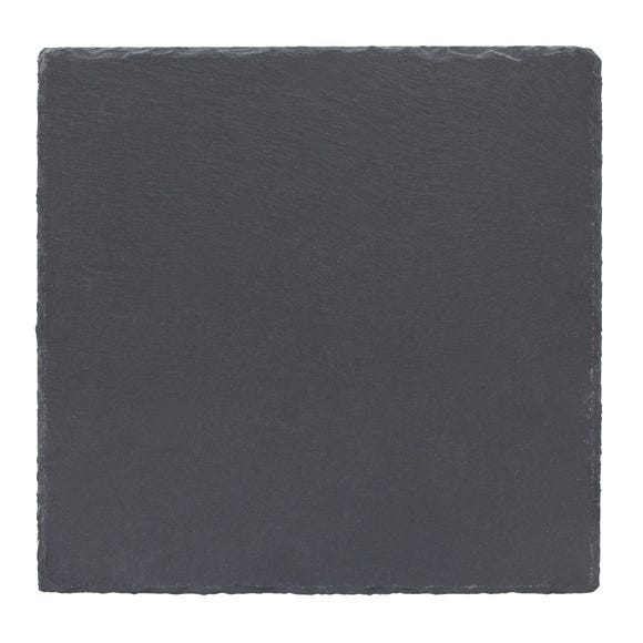 Set of 2 Oversized Slate Placemats Grey