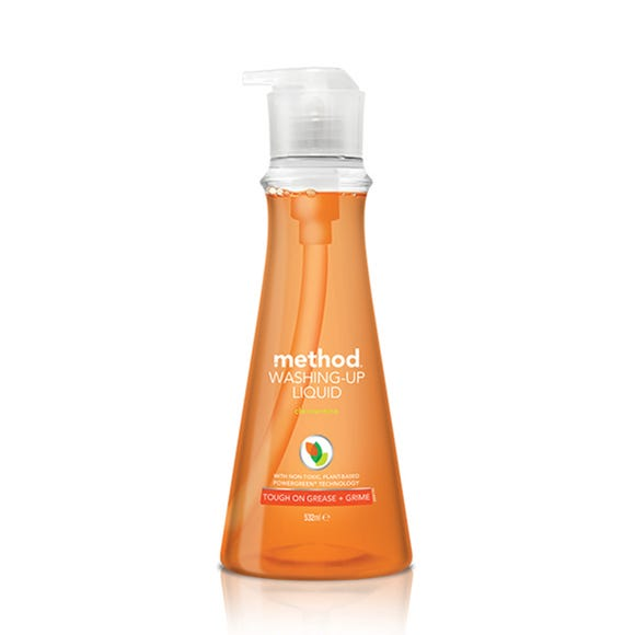 Method Clementine Washing-Up Liquid Clear