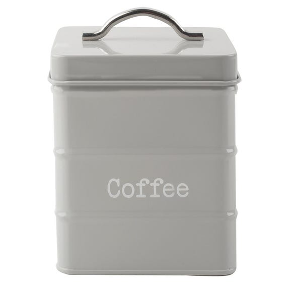 Housekeeper Grey Coffee Canister Grey