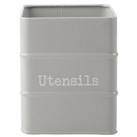 Housekeeper Grey Utensil Jar