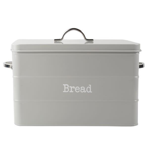 Housekeeper Grey Bread Bin Grey