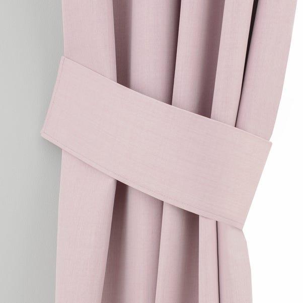 Solar Pink Curtain Tiebacks