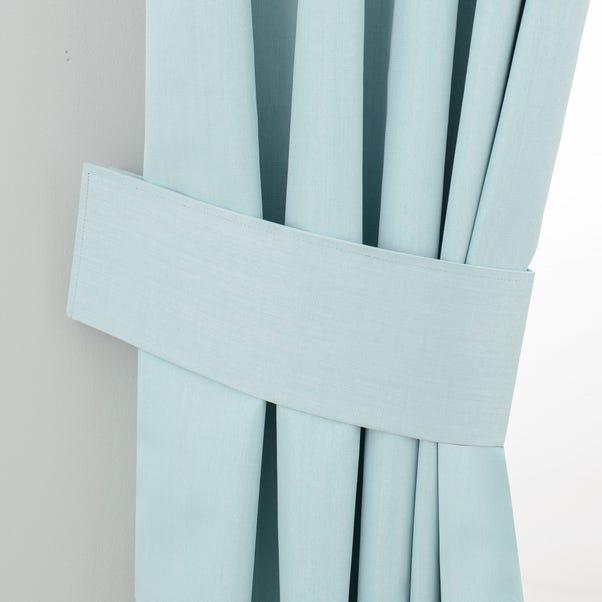 Solar Mint Curtain Tiebacks