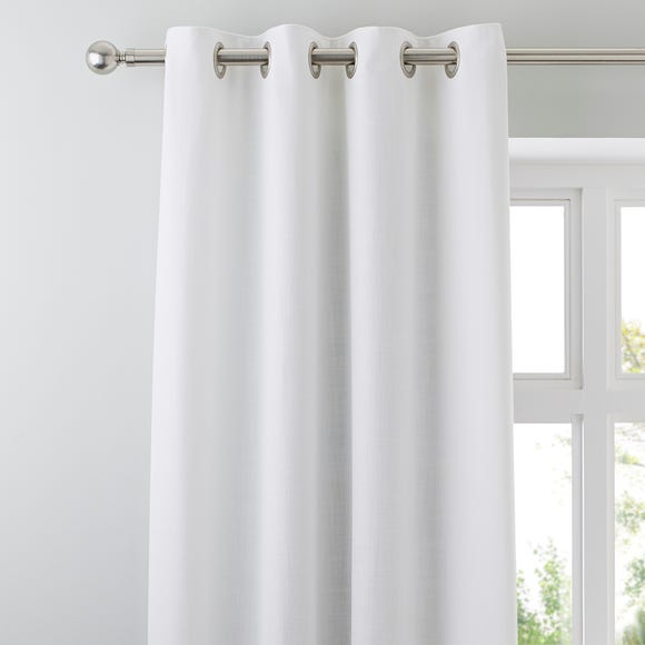 Vermont White Eyelet Curtains  undefined