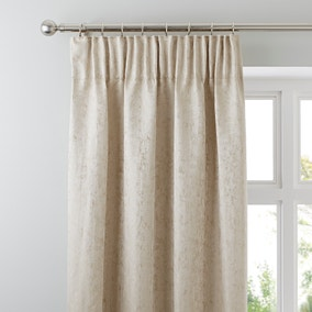 Richmond Champagne Pencil Pleat Curtains