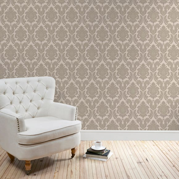 Natural Versailles Wallpaper Natural